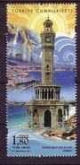 2017 TURKEY HISTORICAL CLOCK TOWERS MNH ** - Nuevos