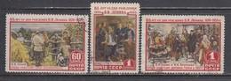 USSR 1955 - 85. Geburtstag Von Lenin, Mi-Nr. 1756/58, Used - 1923-1991 USSR