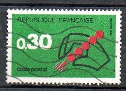 FRANCE. N°1719 Oblitéré De 1972. Code Postal. - Zipcode