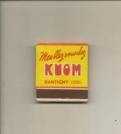 Pochette Allumettes LASTAR De 1957 Neuve Et Pleine:Meubles KUOM à RANTIGNY - Boites D'allumettes