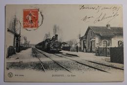 Cpa Dordives La Gare 1918 - TOR30 - Dordives