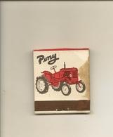 Pochette Allumettes LASTAR De 1955 Neuve Et Pleine:Tracteurs PONY Et FERGUSON - Boites D'allumettes