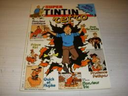SUPER TINTIN RETRO 21 06.1983 Le TRESOR De TOUT-ANKH-AMON Par EP JACOBS CUVELIER - Tintin