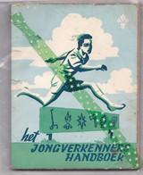 Het Jongverkenners Handboek, Scoutisme, V.V.K.S. 1957, 166blz. Scouts, Jeugdbeweging, Verkenners - Pratique