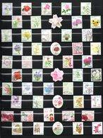 JAPON Fleurs TIMBRES Oblitérés  Lot 24 04 - Collections, Lots & Series