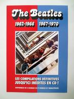 BEATLES : FLYER PUBLICITAIRE Pour La Sortie Des Albums CD Rouge Et Bleu - Autres Collections