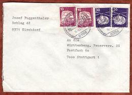 Brief, Rettungshubschrauber U.a., Spiegelau Nach Stuttgart 1979? (77375) - BRD