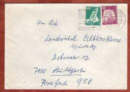 Brief, Weltraumlabor U.a., Murrhardt Nach Stuttgart 1979? (77376) - BRD