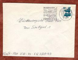 Brief, Unfallverhuetung, Murrhardt Nach Stuttgart 1977 (77377) - BRD