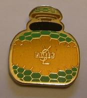 PARFUM YSL YVES SAINT LAURENT PARIS Pin Pin's Pins - Perfume