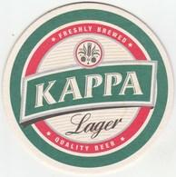 UNUSED BEERMAT - KAPPA (LEMESOS, CYPRUS) - LAGER - Beer Mats