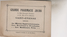 ST ETIENNE PETIT LIVRE PUB  GRANDE PHARMACIE JACOB - Saint Etienne