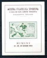 ERINNOFILIA / Mostra Filatelica Sportiva - Erinnofilia