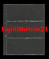 10 Pochettes A4  NEUVES/NIEUW - 3 Cases / 10 A4 Mappen - 3 Vakken - Made In Belgium - Timbres