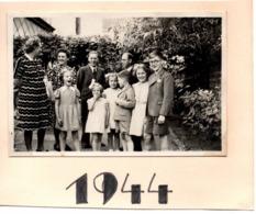 9 Rue Cumontstraat 1944  Aalst Alost - Photo 6x9cm  Belgique - Automobiles