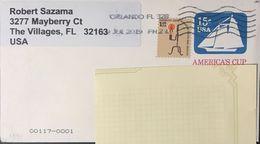 ◆◆◆Estados Unidos / USA 2019 AIR MAIL TO SPAIN++++ - Cartas