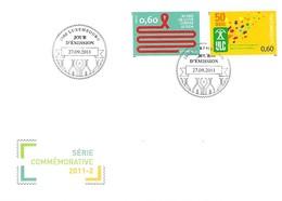 FDC -  JOUR D'ÉMISSION  -  SÉRIE COMMÉMORATIVE 2011-2  -  27.09..2011 - FDC