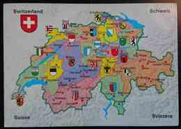 SCHWEIZ / SUISSE / SWITZERLAND / SVIZZERA - Mappa, Map, Carte Geographique, Mapa - Ofenpass- Nv - Switzerland