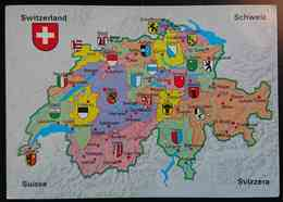 SCHWEIZ / SUISSE / SWITZERLAND / SVIZZERA - Mappa, Map, Carte Geographique, Mapa - Ofenpass- Nv - Otros