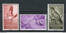 Sahara 1958. Edifil 153-55 ** MNH. - Sahara Spagnolo