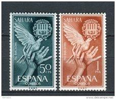 Sahara 1963. Edifil 220-21 ** MNH. - Sahara Spagnolo