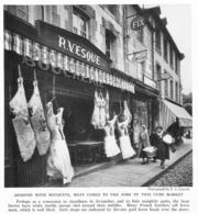 AVRANCHES Boucherie    Document Original Américain De 1936 Suite à Recherche Perso: Rue De La Constitution - Ohne Zuordnung