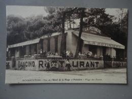 NOIRMOUTIER VUE DE L'HOTEL DE LA PLAGE  ET POTINIERE PLAGE DES DAMES GLACIER AMBULANT - Ile De Noirmoutier
