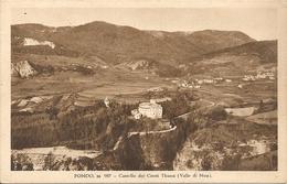 FONDO - VAL DI NON - CASTELLO DEI CONTI THUNN - FORMATO PICCOLO - VIAGGIATA 1935 - (rif. I47) - Trento