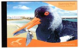 Alderney 2009 R MNH Booklet Oiseaux Vogels Vögel Pájaros Resident Birds Waders Turnstone Curlew Oystercatcher - Other