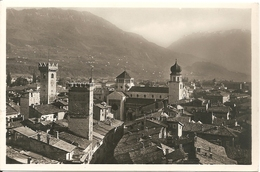 TRENTO - PANORAMA RAVVICINATO - Primissime Lucide - FORMATO PICCOLO - VIAGGIATA 1951 - (rif. I48) - Trento