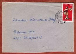 Brief, Europa Skulptur, Markdorf Nach Stuttgart 1976 (77384) - BRD