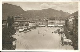 BOLZANO - PIAZZA VITTORIO EMANUELE - Primissime Lucide - FORMATO PICCOLO - VIAGGIATA 1938 - (rif. I49) - Bolzano