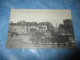 CPA CPSM CP MORBIHAN 56 LORIENT V1910 - LA PLACE DU MORBIHAN / ANIMÉ / CHARIOT - 5012. COL. VILLARD TBE - Lorient
