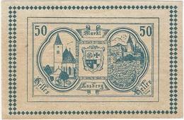 Austria (NOTGELD) 50 Heller Lasberg 12-5-1920 Kon 505 A.3 Verde UNC - Austria