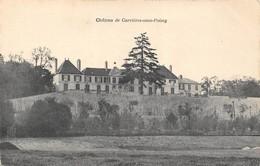 Le Château De CARRIERES-sous-POISSY. CARTE VIERGE - Schlösser