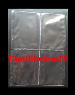 100 Pochettes A4 - 4 Cases Pour CP Anciennes / 100 A4 Mappen - 4 Vakken Voor Oude PK - Altro Materiale