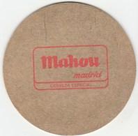 UNUSED BEERMAT - MAHOU BEER (MADRID, SPAIN) - Beer Mats