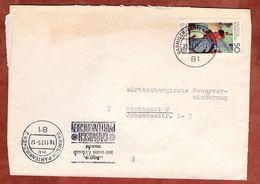 Brief, Europa Oskar Schlemmer, Garmisch-Partenkirchen Nach Stuttgart 1975 (77388) - BRD