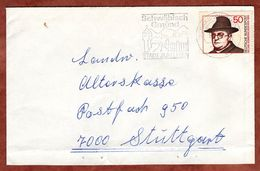 Brief, Carl Sonnenschein, Schwaebisch Gmuend Nach Stuttgart 1976 (77389) - BRD
