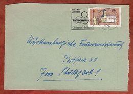 Brief, Europa Regensburg, Luebeck-Travemuende Nach Stuttgart 1978 (77390) - BRD