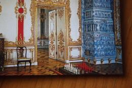 JEU - ECHECS - CHESS - ECHECS . Saint Petersburg Ekaterininsky Palace. Chess On A Table  - 2000s 15 Postcards Set - Echecs