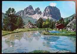 PASSO SELLA - Gruppo Sassolungo - Trentino - Rifugio Monti Pallidi Canazei Val Di Fassa -  VG TA2 - Trento