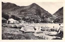CARAÏBES - LA GUADELOUPE - SAINTES : Terre De Haut - Le Fond De Curé - CPSM PF 1951 - Caribbean Caraïbes Karibik Caribe - Otros