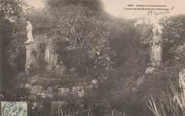 29 Landevennec Abbaye Le Parvis Des Ruines De La Basilique Cachet 1905 - Landévennec