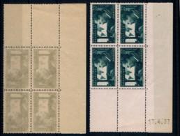 YVERT 337 Coin Daté 17.4.37 MERMOZ - Dents Ouvertes Jusqu'au 1 De 17 - SCAN RECTO-VERSO = SANSURPRISE - 1930-1939
