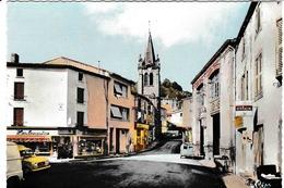 Vertaizon - Avenue Pasteur Avec Renault 4L Fourgonnette Et Citroen 2CV Fourgonette - France
