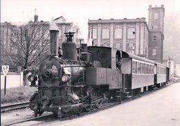Allemagne, Mitteldeutsche Eisenbahn Gesellschaf, Personenzug In Zell, Photo 1962 BVA, MEG 546.2 - Zell