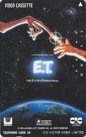 Télécarte Japon / 110-52300 - CINEMA FILM - ET - E.T. - THE EXTRA TERRESTRIAL - MOVIE Japan Phonecard - KINO - E 11502 - Cinéma