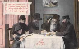 """ISRAEL Israele ( Judaïca Judaisme ) Bonne Année / Happy New Year - La Douce Parole De La TORAH - CPA """"vernie """" - Israel"""