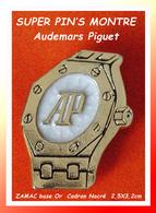 """SUPER PIN'S MONTRE PIGUET : Modèle """"Royal Oak"""" Du Créateur AUDEMARS PIGUET, MONTRES SUISSES ZAMAC Or 2,5X3,2cm - Marques"""